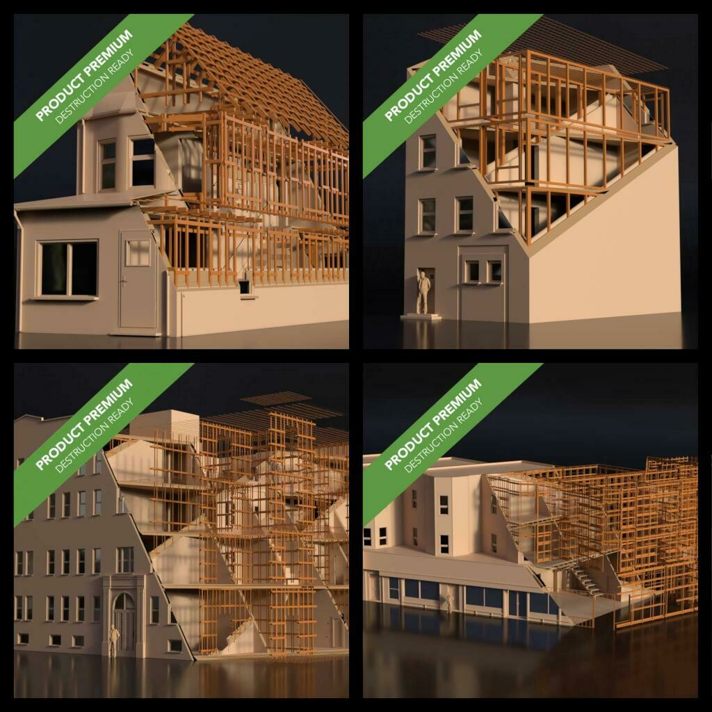 Buildings Pack 001