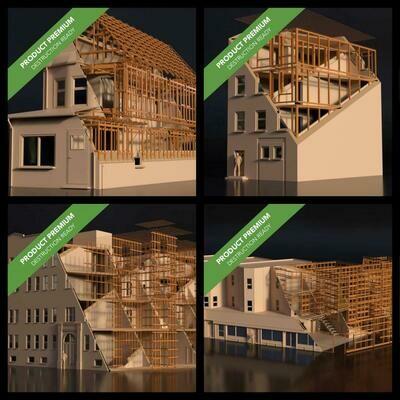 Buildings Pack 001