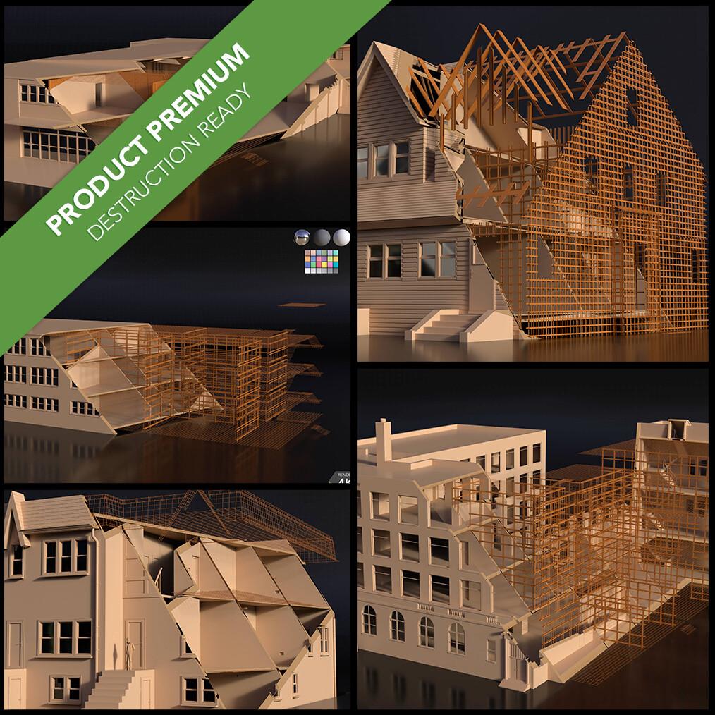 Buildings Pack 003