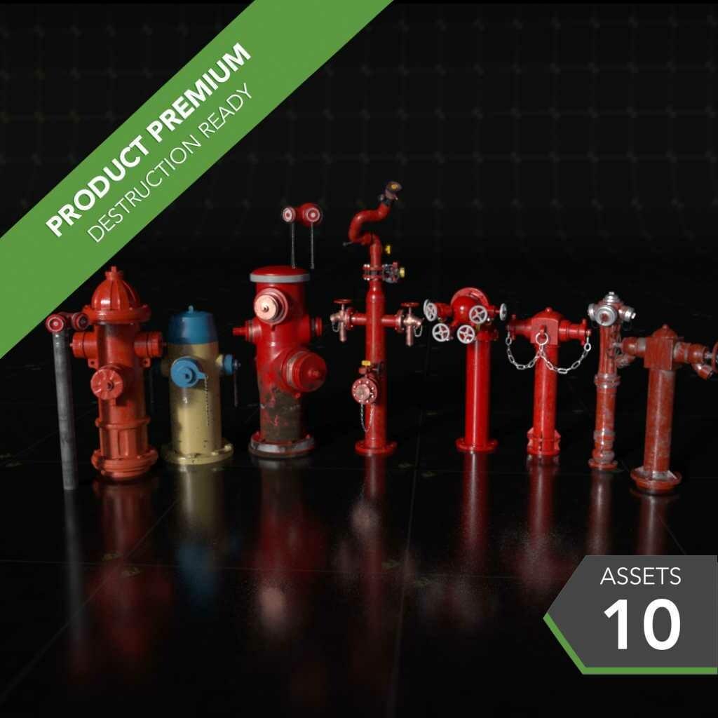 Fire Hydrants 001