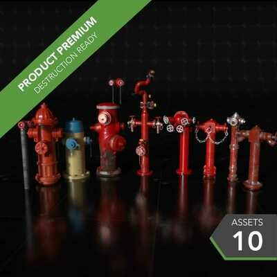 Fire Hydrants 001