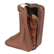 M&F Brown Boot Bag