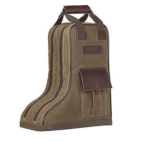 M&F Canvas Boot Bag