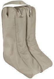 M&F Tan Boot Bag