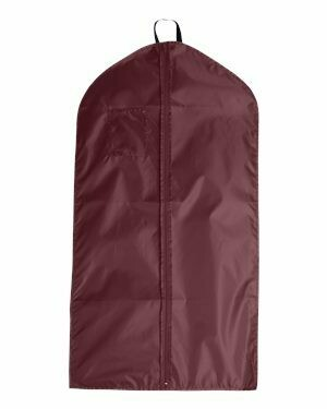 S & S Garment Bag Maroon