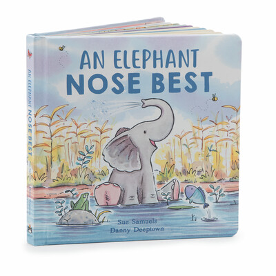 Jellycat An Elephant Nose Book