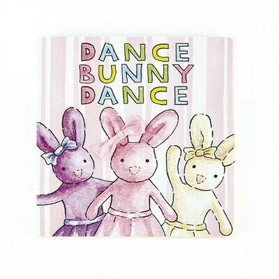 Jellcat Book Dance Bunny