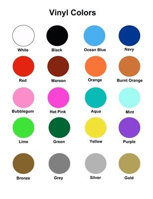 Vinyl Colors