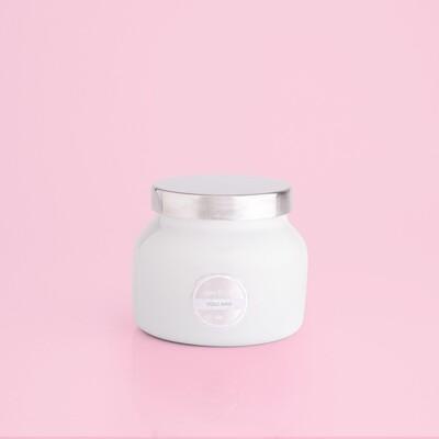 Capri Blu Petite Sig Jar White
