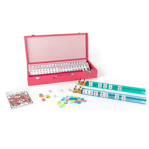 Brouk Mahjong Set Pink