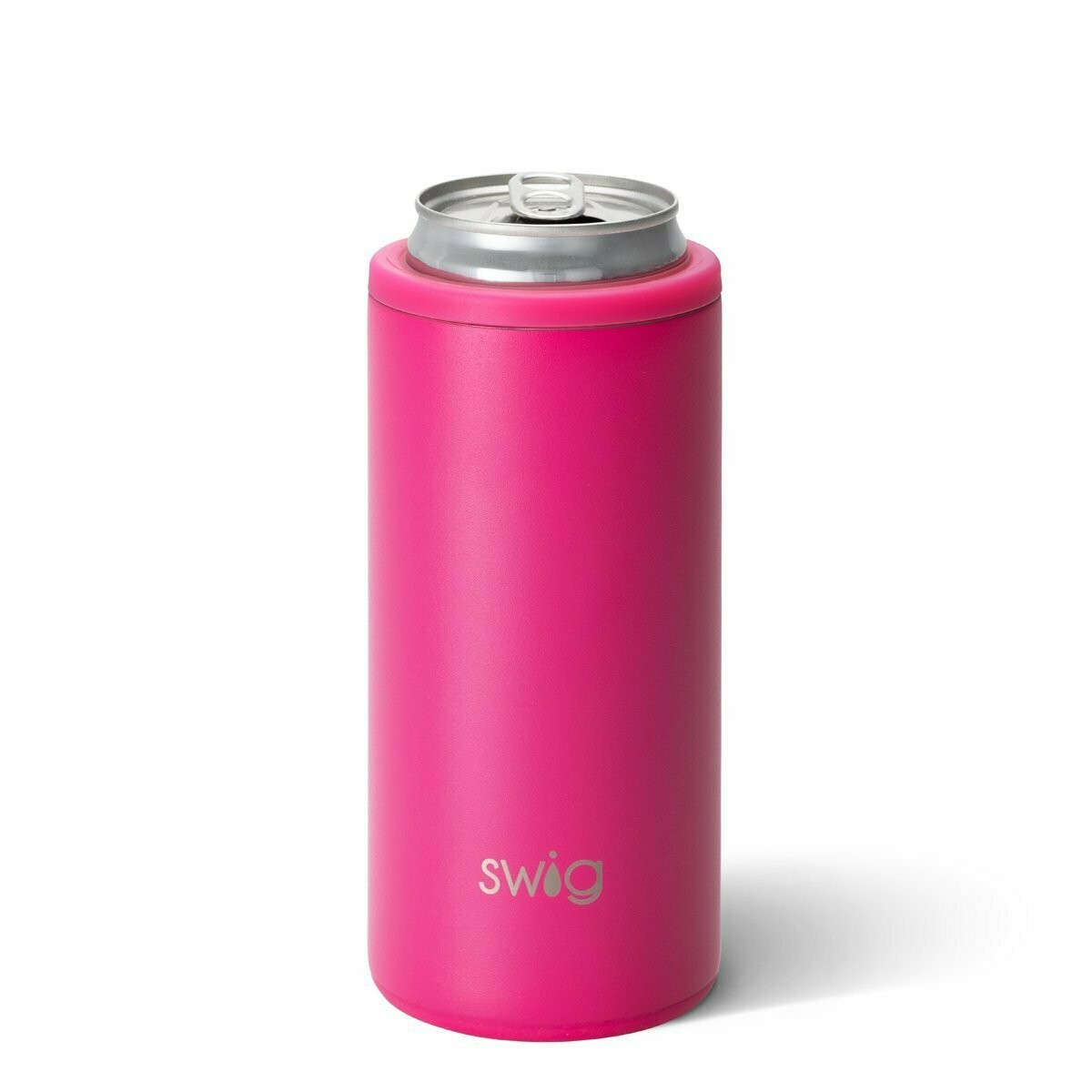Skinny Can 12 Oz Hot Pink