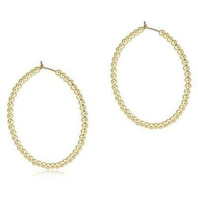 Bead 1.75 Earring Hoop