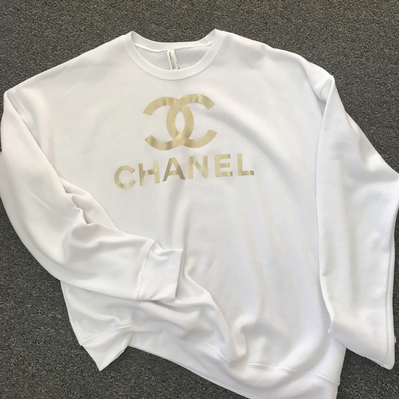 Sweatshirt White Chanel