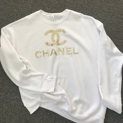 Sweatshirt White Chanel