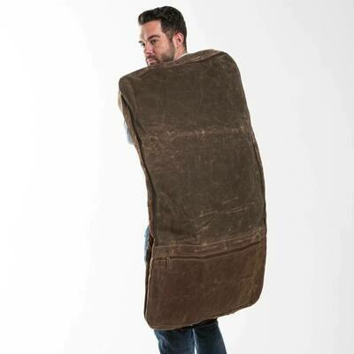 Waxed Garment Bag-Olive