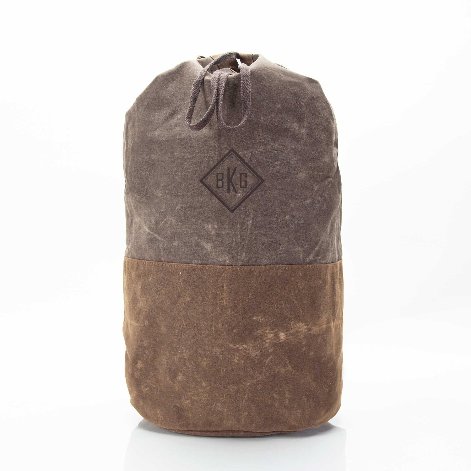 Waxed Canvas Laundry Duffel