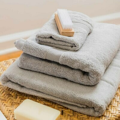 Cotton Wash Cloth-Grey