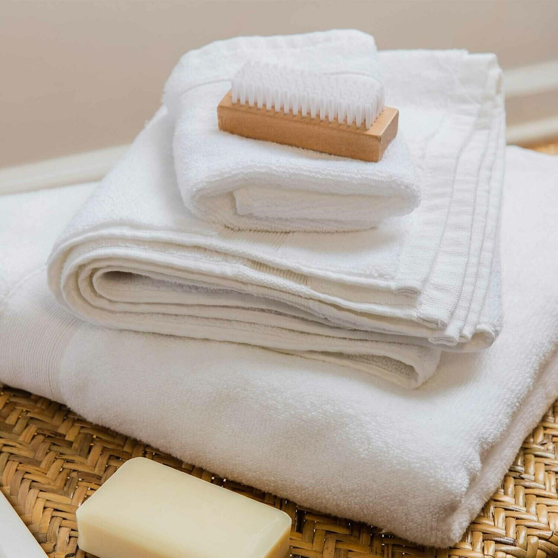 Cotton Wash Cloth-White