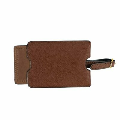 Brouk Alexa Luggage Tag Chestnut