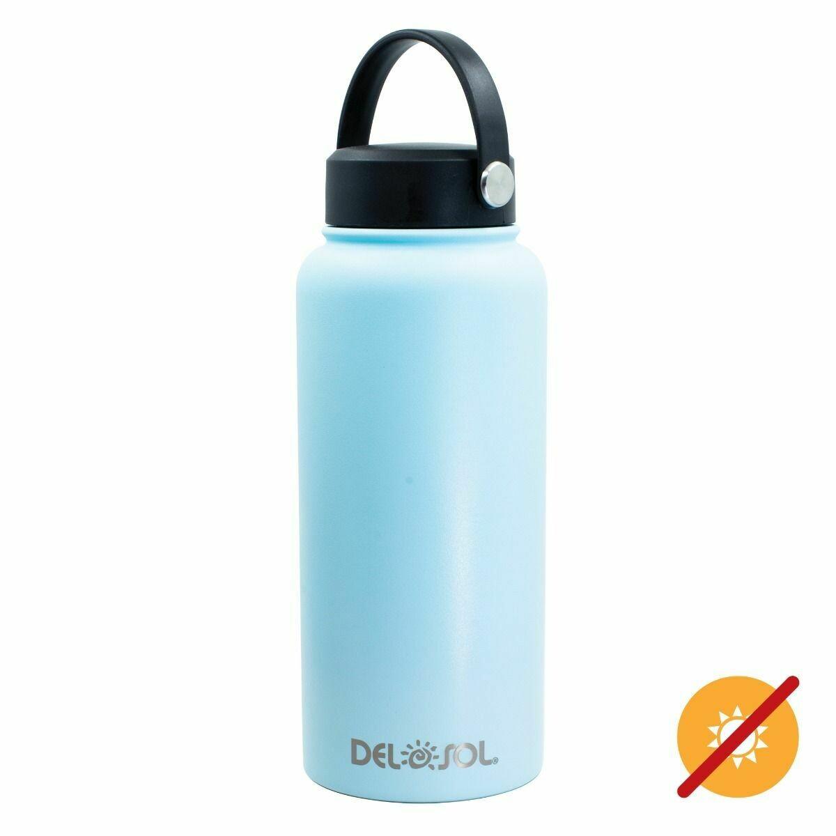 DelSol-waterbottle Blu