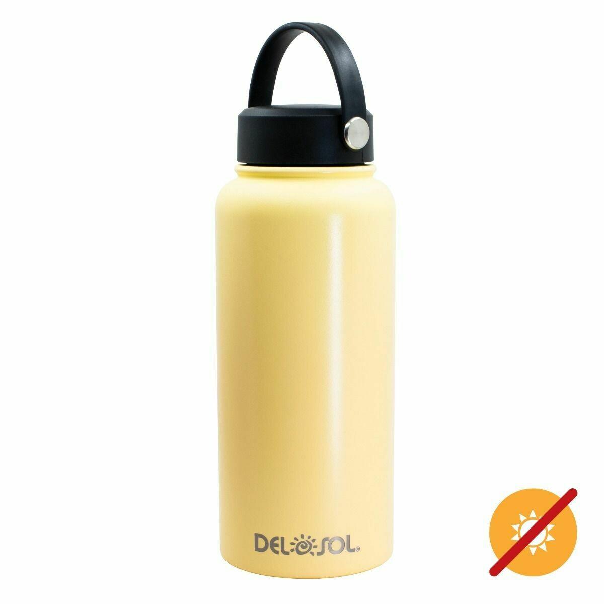 DelSol- Watterbottle Yellow
