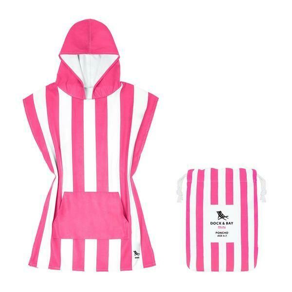 4-7 DockBay-poncho-PhiPhi Pink