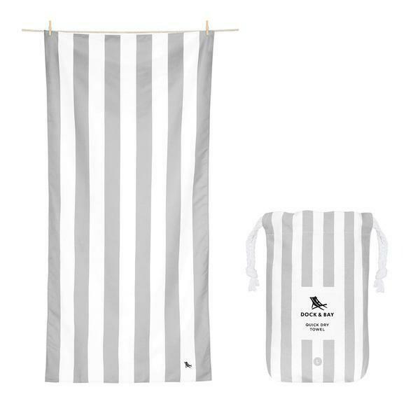 Lg DockBay-Towel-Grey