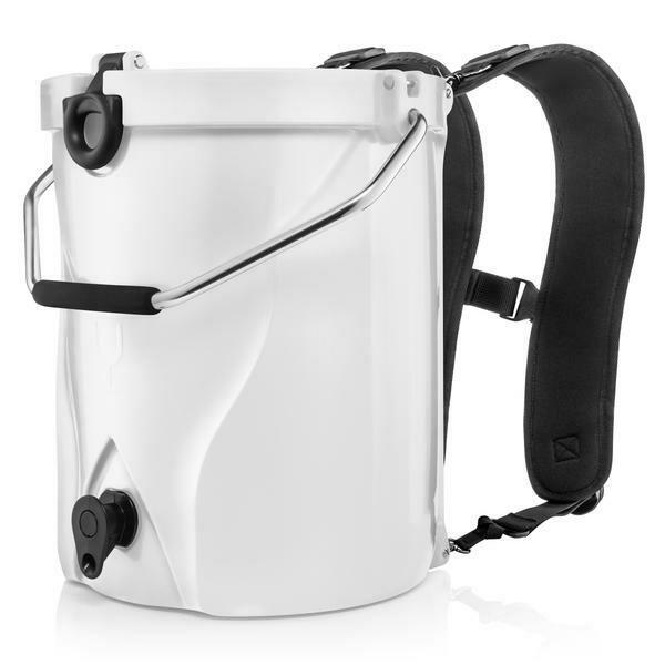 Brumate White Backpack