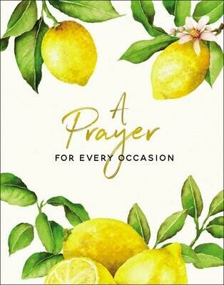 A Prayer For Every Occasion Book