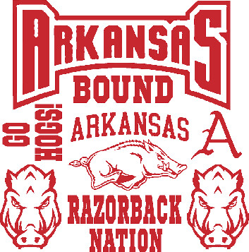 Arkansas Car Decals
