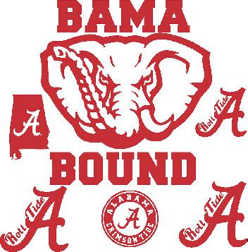Alabama Car Decals