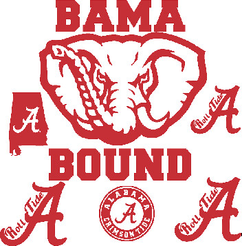 Alabama Car Decals