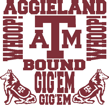 A&M Car Decals