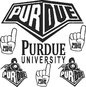 Purdue Car Decals