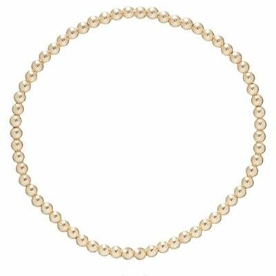 Bliss Bar 3 mm Bead Bracelet