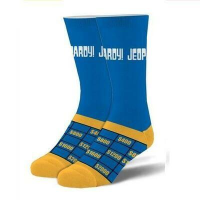 CS Jeopardy Socks