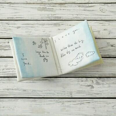 Demdaco Poetic Threads I Love You Soft Book