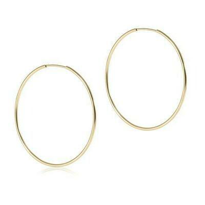 "Endless Gold 1.75"" Hoop"