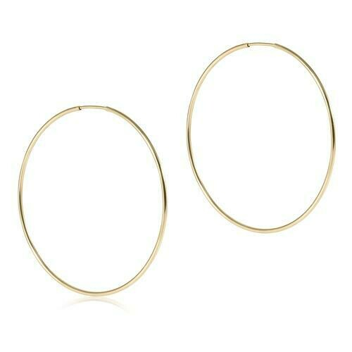 "Endless Gold 2"" Hoop"