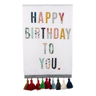 Glory Haus-Happy Birthday Towel
