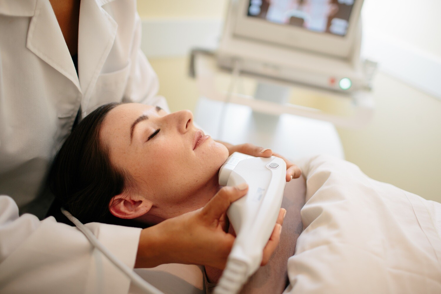 Ultherapy Necklift