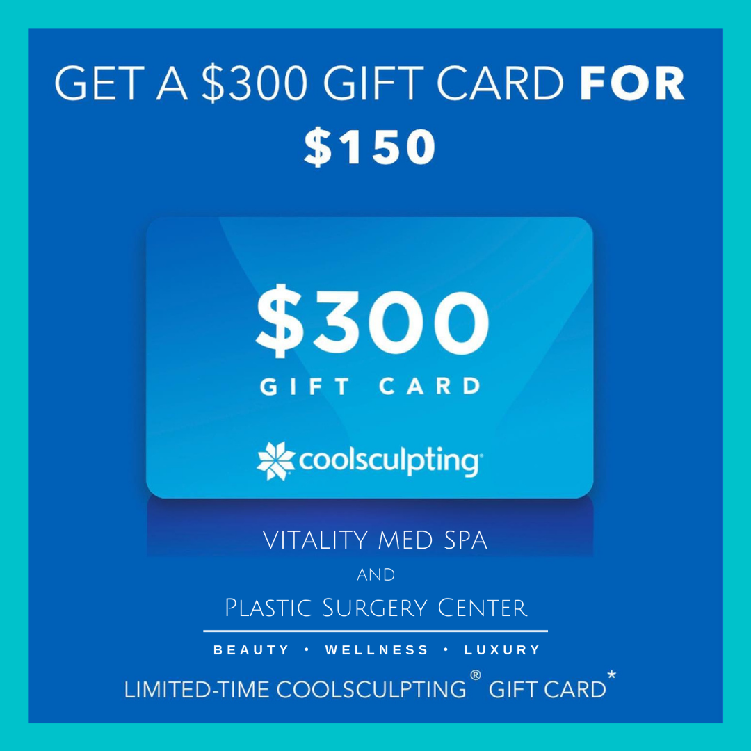 $300 CoolSculpting gift card for $150