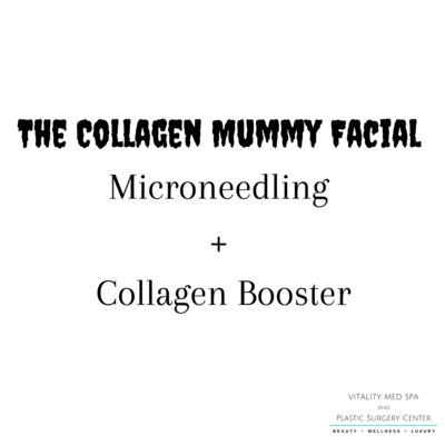 The Collagen Mummy Facial - Microneedling + Collagen Booster