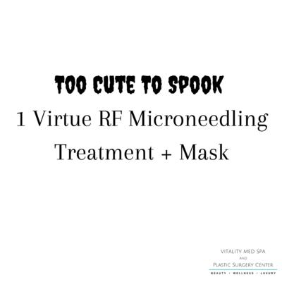 Too Cute To Spook 1 Virtue RF Microneedling Treatment + Mask