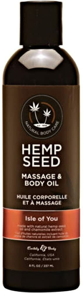 Hemp Seed Massage Oil Isle Of You 8 Oz