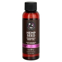 Hemp Seed Massage Oil Skinny Dip 2oz