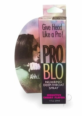 Pro Blo Numbing Deep Throat Spray Seductive Cherry