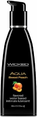 Wicked Aqua Sweet Peace Flavored Water Based Lube 2oz