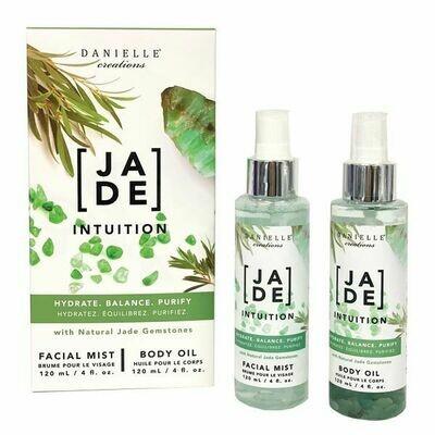 2-Piece Glow Kit Facial Mist & Body Oil - Jade