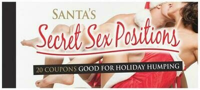 Santa's Secret Sex Positions Coupons